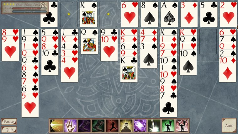 FreeCell Quest screen shot 5