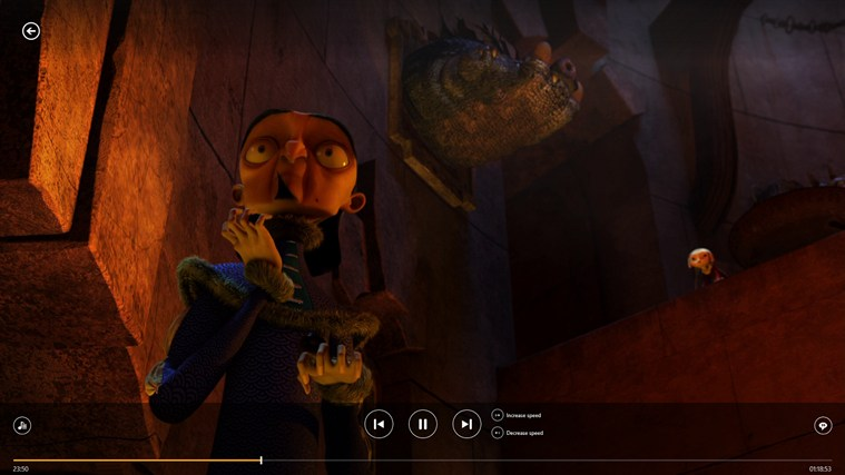 VLC for Windows 8 screen shot 1