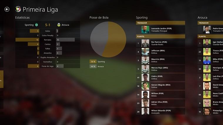 SAPO Desporto captura de ecrã 3