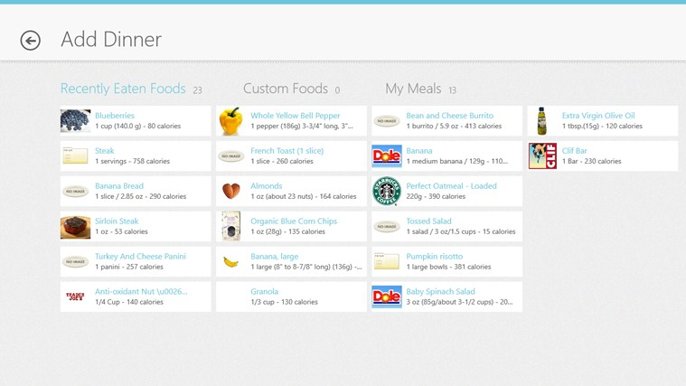 LIVESTRONG.COM Calorie Tracker screen shot 7