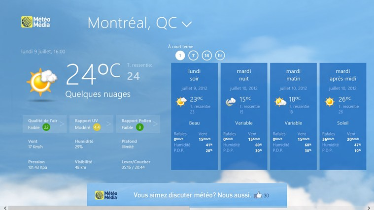 The Weather Network capture d'écran 1