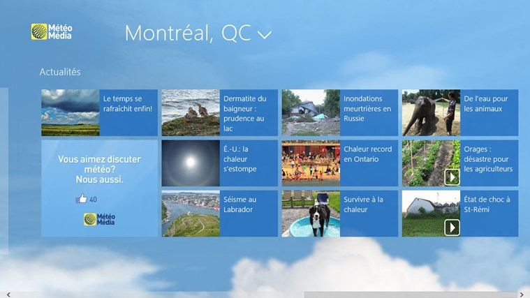 The Weather Network capture d'écran 3