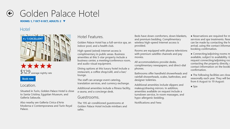 Hotels.com screen shot 1