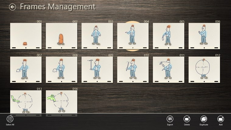 Animation Desk screen shot 5