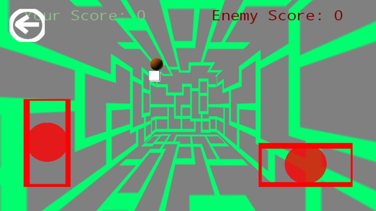 Breakout Pong Arcade 3D Plus screen shot 1