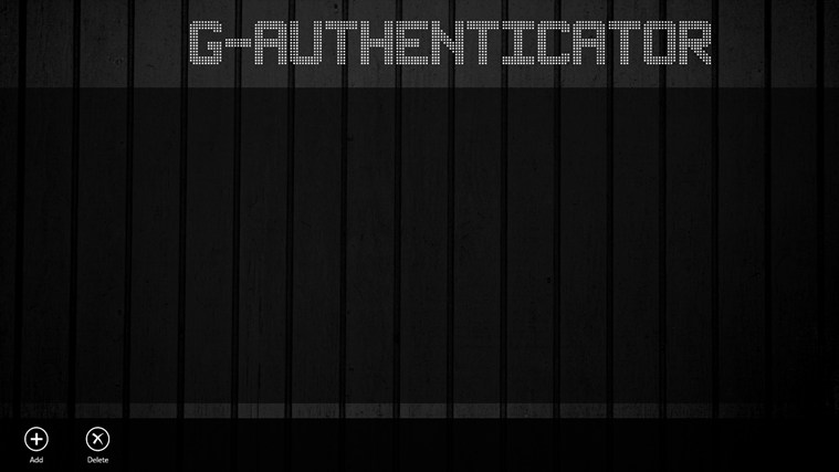 G-Authenticator screen shot 1