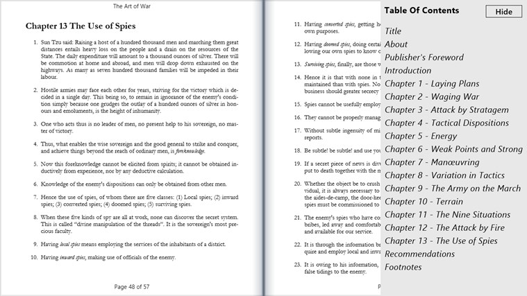 Book Bazaar Reader screen shot 5