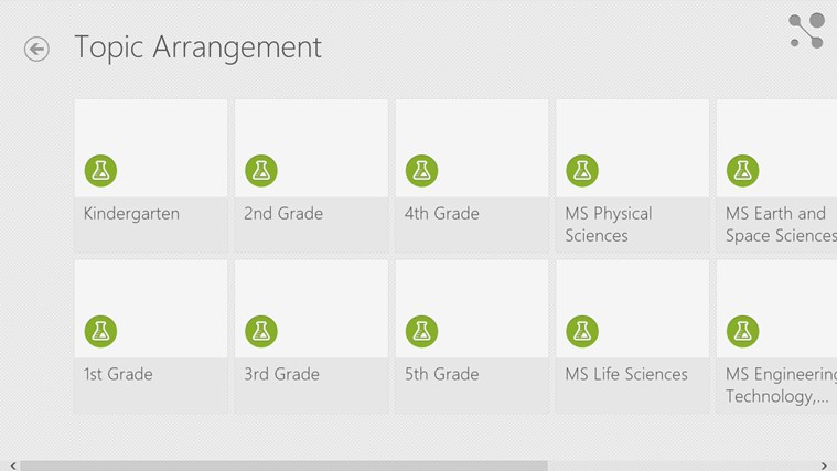 Next Generation Science Standards screen shot 1