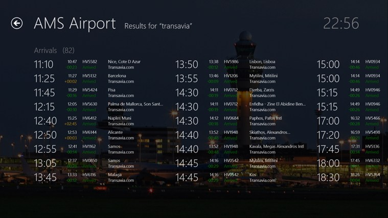 AMS Airport screen shot 7