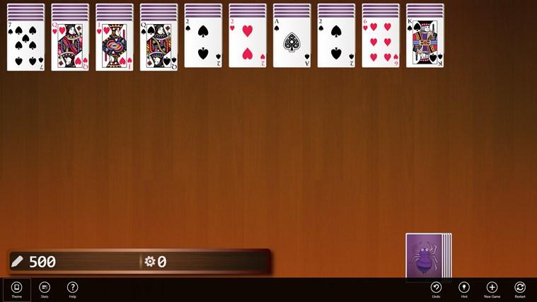 free spider solitaire 2 decks blackjack