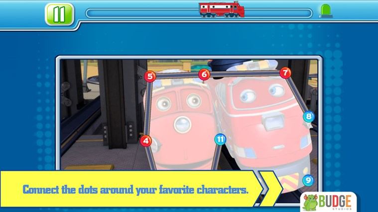 Chuggington Puzzle Stations screen shot 3