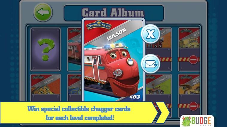 Chuggington Puzzle Stations screen shot 5