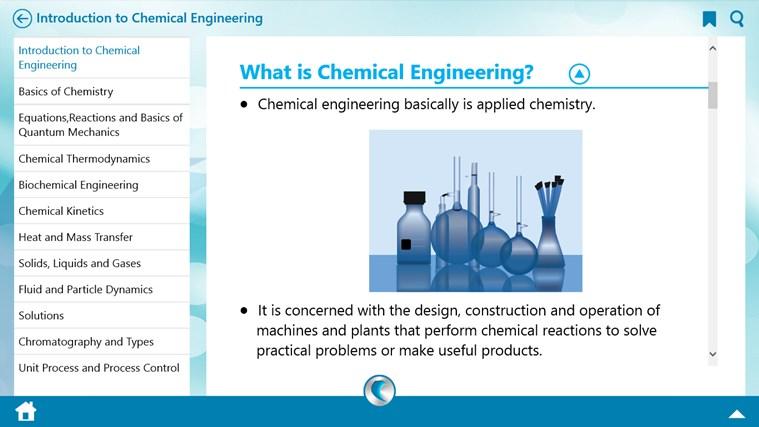 Chemical Engineering by WAGmob umfanekiso weskrini 1
