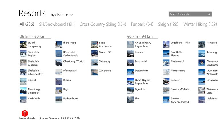 Swiss Snow Report screen shot 3
