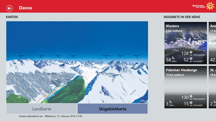 Swiss Snow Report Screenshot 7