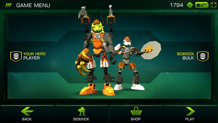 LEGO® Hero Factory Brain Attack screen shot 1