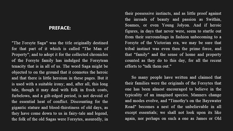 The Forsyte Saga captura de tela 1