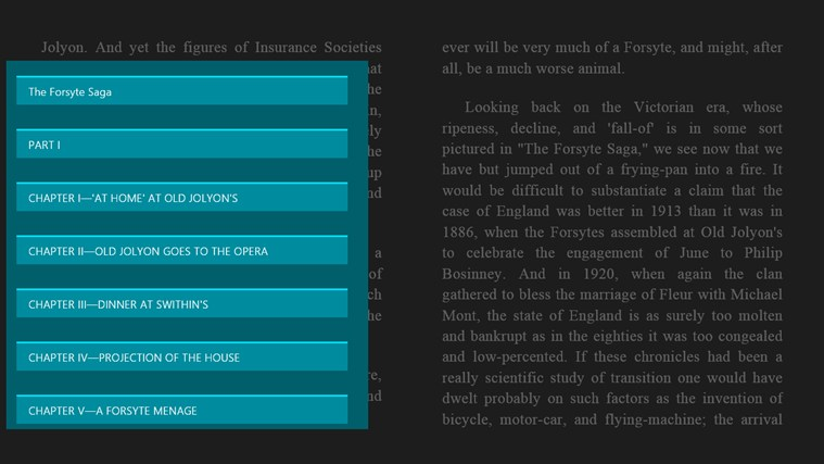 The Forsyte Saga captura de tela 3