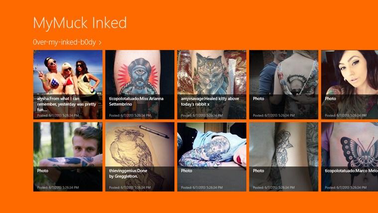 mym简谱-Windows 应用商店 中适用于 Windows 的 MyMuck Inked 应用
