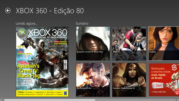 Revista Oficial do Xbox captura de tela 1