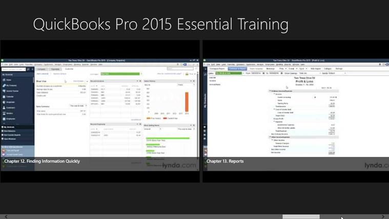 Learn QuickBooks Pro 2015 Essential Training - Windows