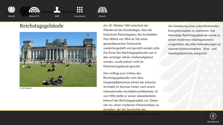 Deutscher Bundestag screen shot 1
