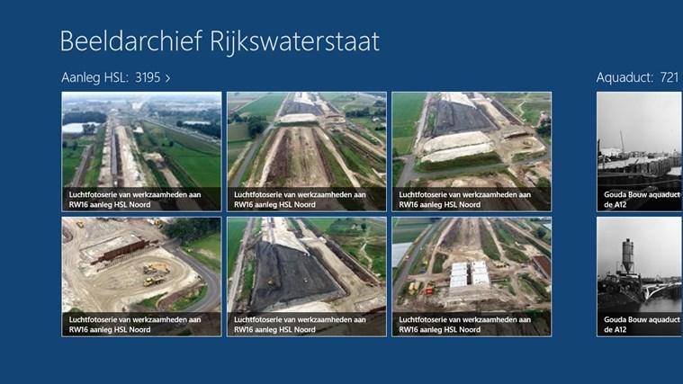 Beeldarchief Rijkswaterstaat schermafbeelding 1