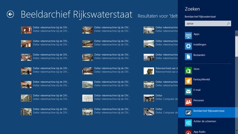 Beeldarchief Rijkswaterstaat schermafbeelding 7