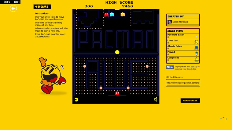 Pacman Infinity HD screen shot 5