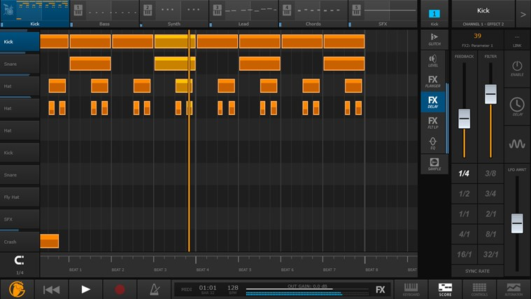FL Studio Groove screen shot 5