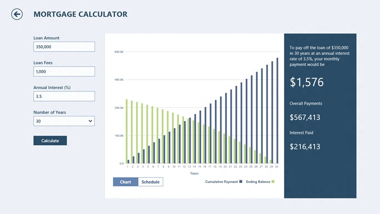 Bing Finance screen shot 7