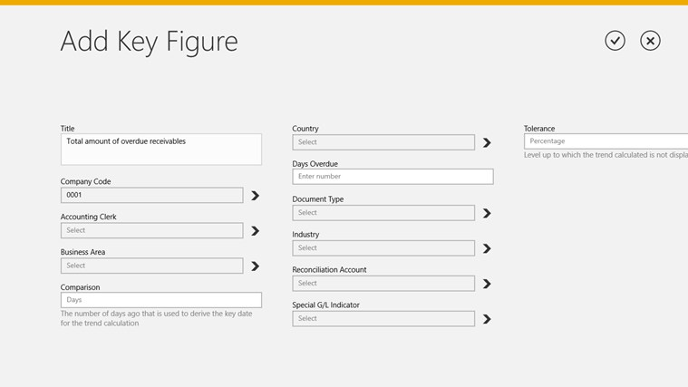 SAP Receivables Manager screen shot 3
