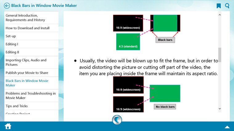 Learn Windows Movie Maker by WAGmob screen shot 5