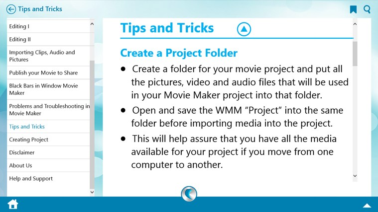Learn Windows Movie Maker by WAGmob screen shot 7