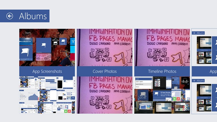 FB Pages Manager screen shot 7