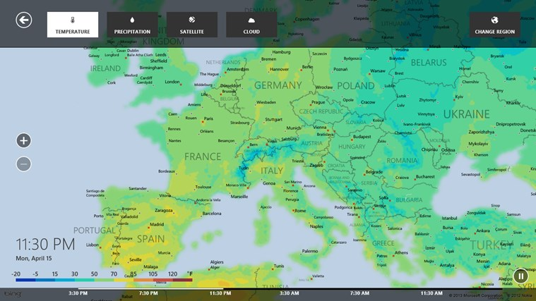 MSN Weather screen shot 5