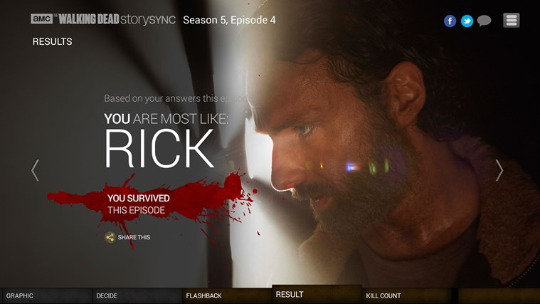 AMC Story Sync screen shot 3
