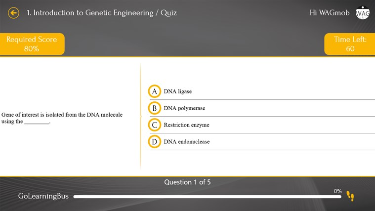 Genetic Engineering 101 by WAGmob screenshot 3