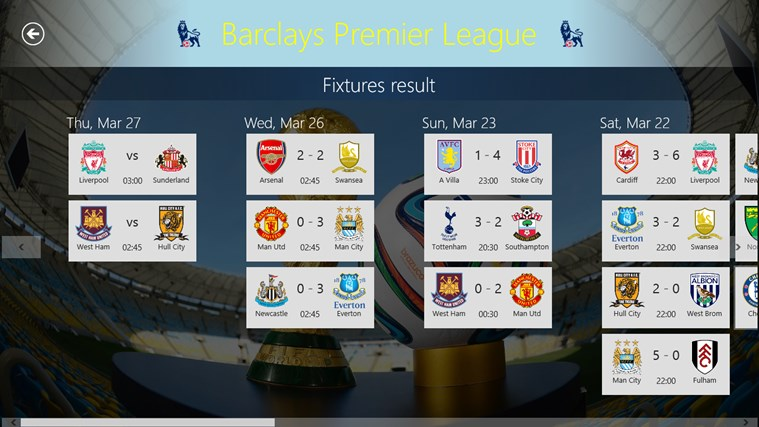Football World posnetek zaslona 3