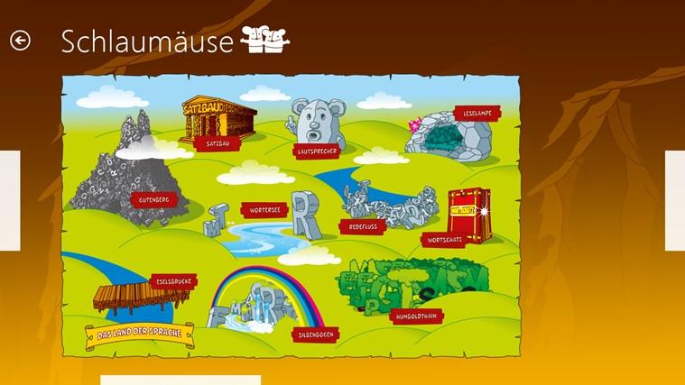 Schlaumäuse - Im Land der Sprache Screenshot 7