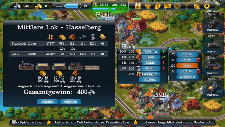 SteamPower1830 Screenshot 3