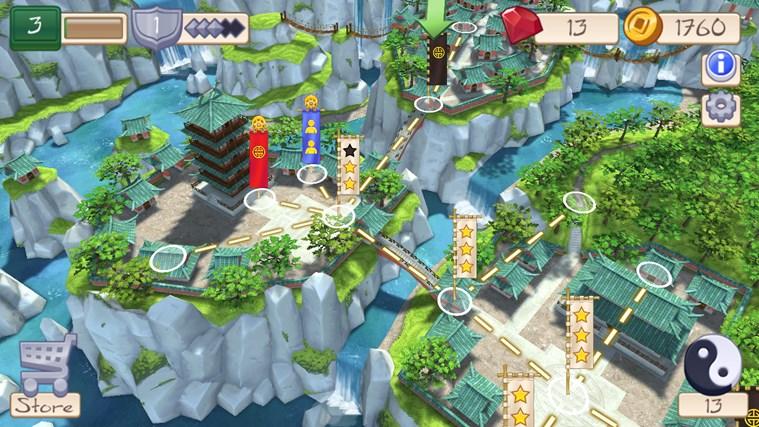 Tile Temple Tactics screen shot 3
