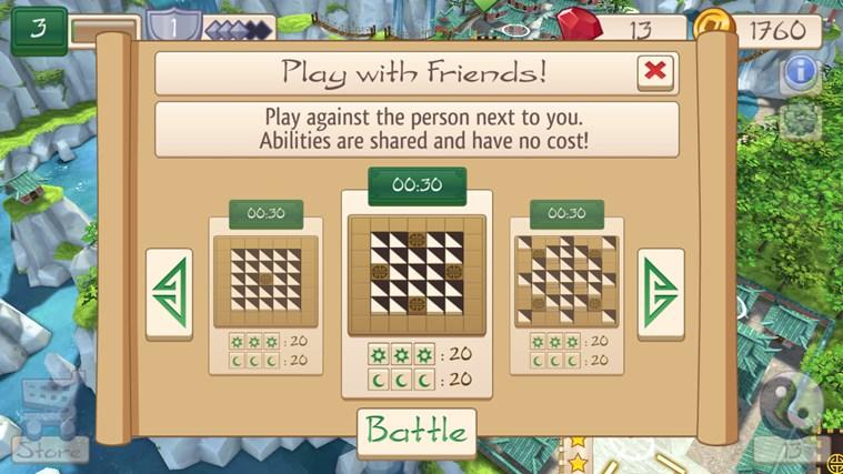 Tile Temple Tactics screen shot 7