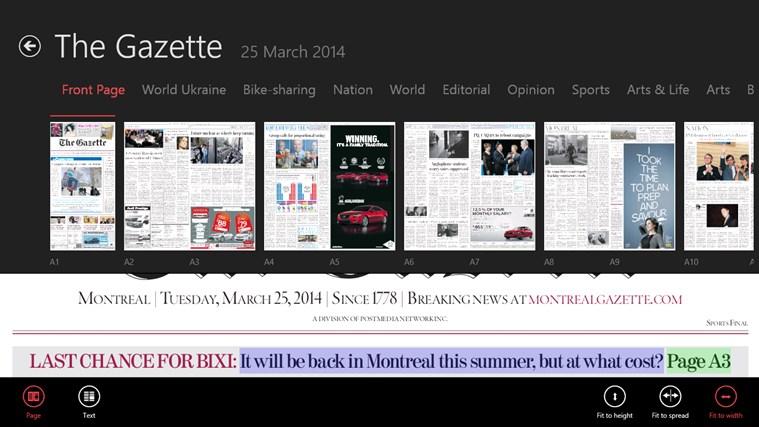 The Gazette ePaper capture d'écran 3