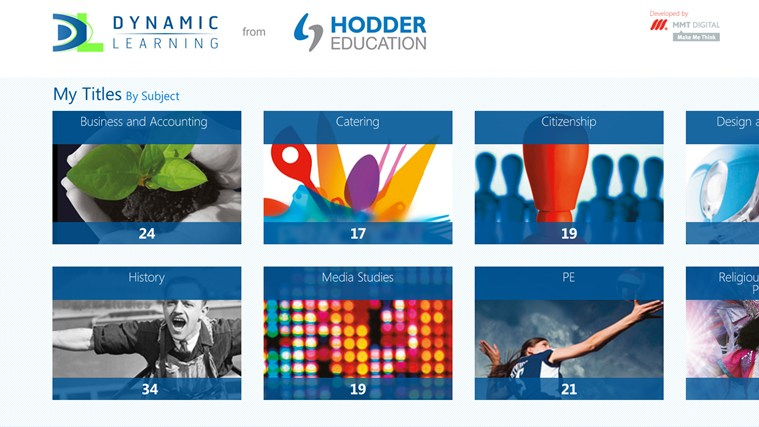 Dynamic Learning from Hodder Education screen shot 1