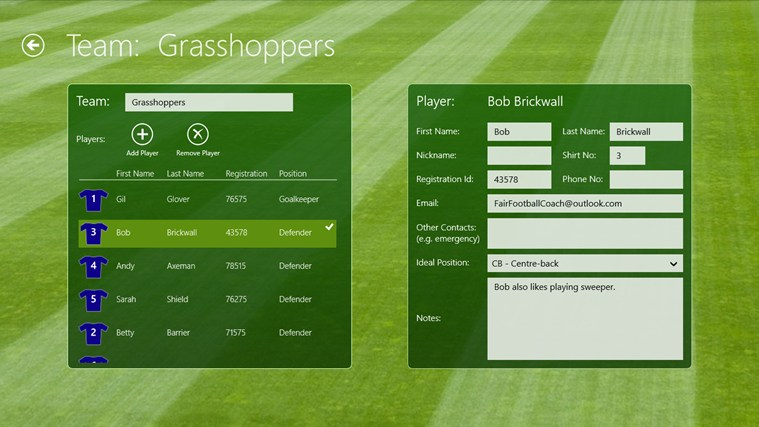 Fair Football Coach screen shot 5