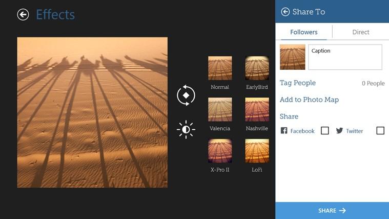 InstaPic screen shot 5