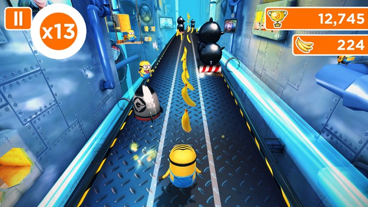 Despicable Me: Minion Rush capture d'écran 1