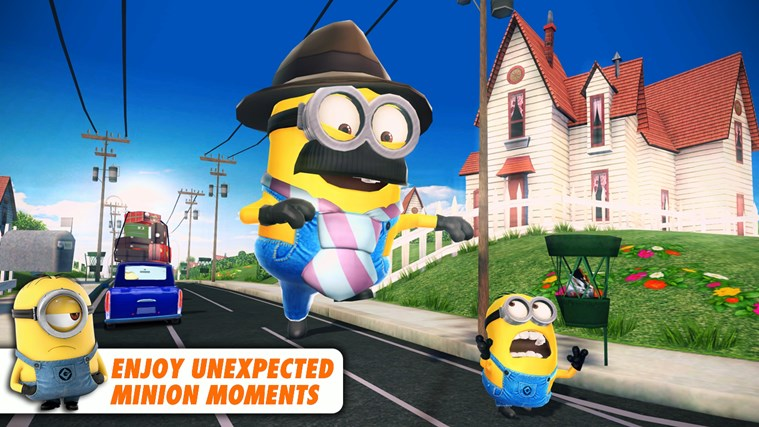 Despicable Me: Minion Rush screen shot 3