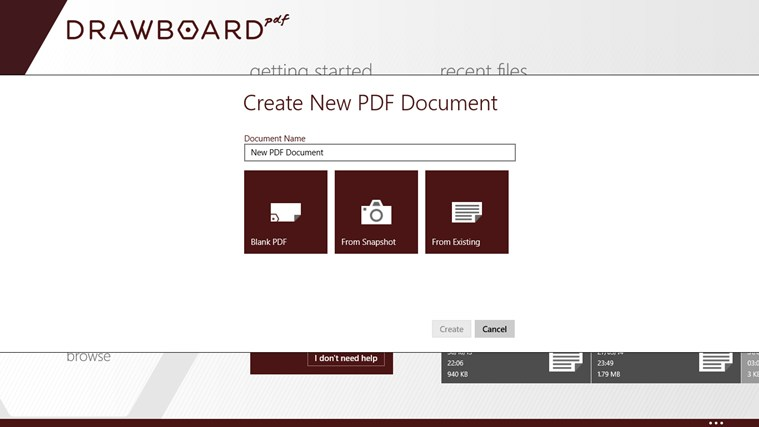 Drawboard PDF screen shot 7